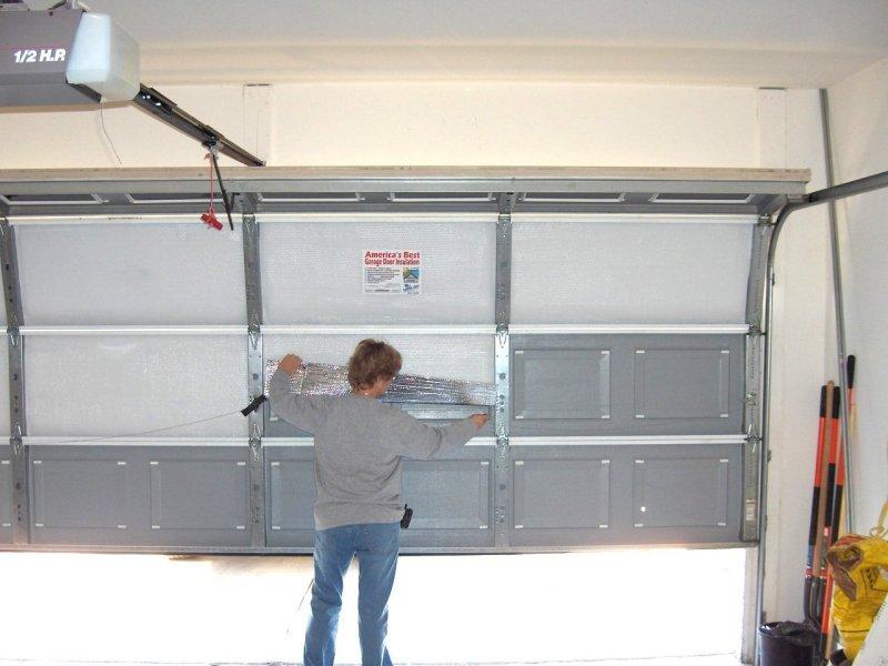 diy garage door replacement photo - 1