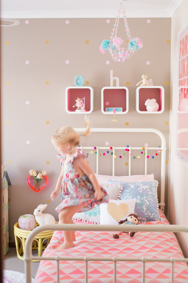 diy girls bedroom photo - 2