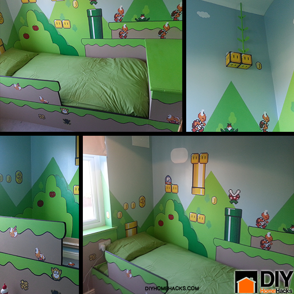 diy kids bedroom ideas photo - 2