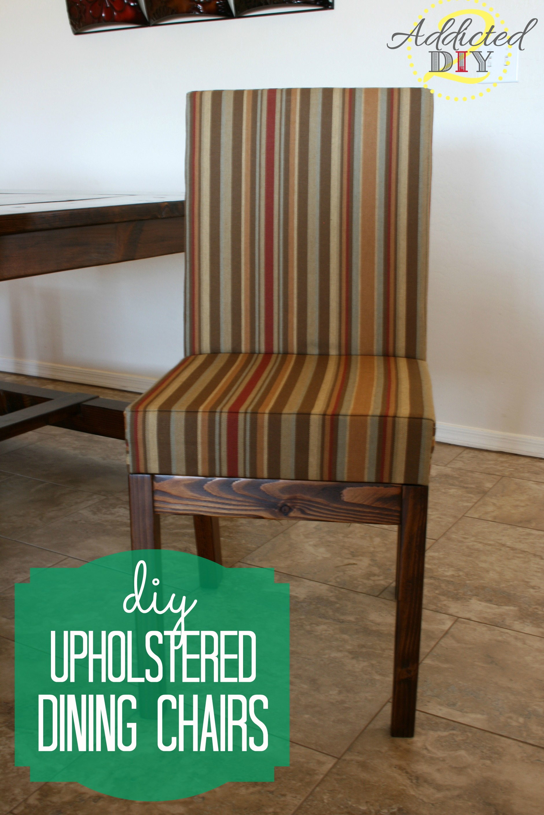 diy upholstered dining chairs photo - 2