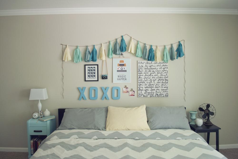 diy wall decor ideas for bedroom photo - 2