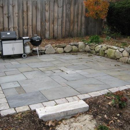 do it yourself backyard patio photo - 2