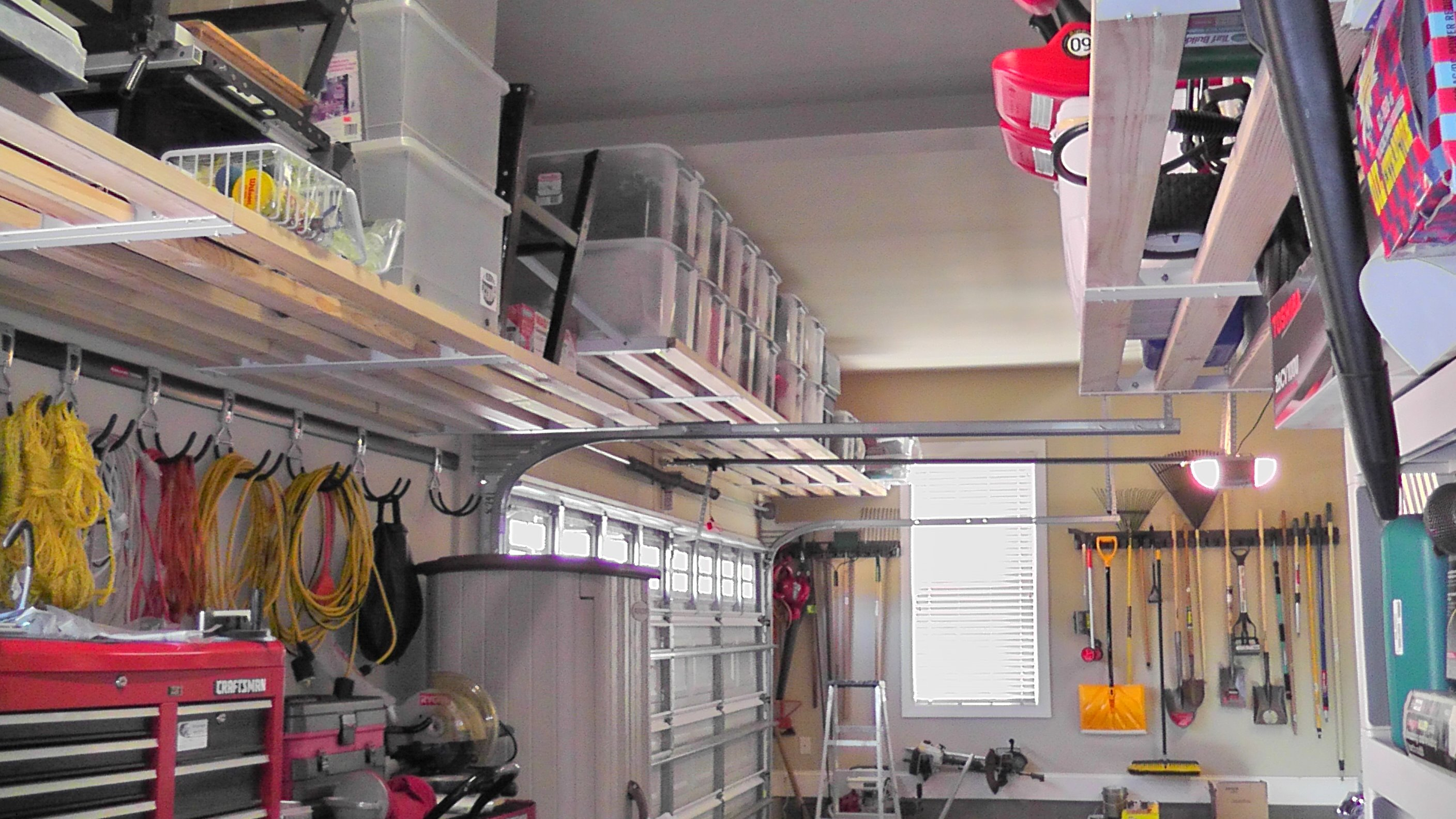do it yourself garage organization photo - 1