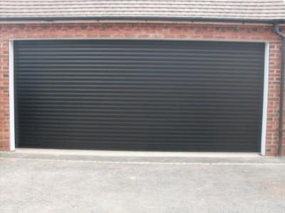 double insulated garage door photo - 2