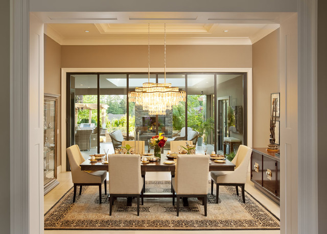 Charming Dream Dining Room Photo   2