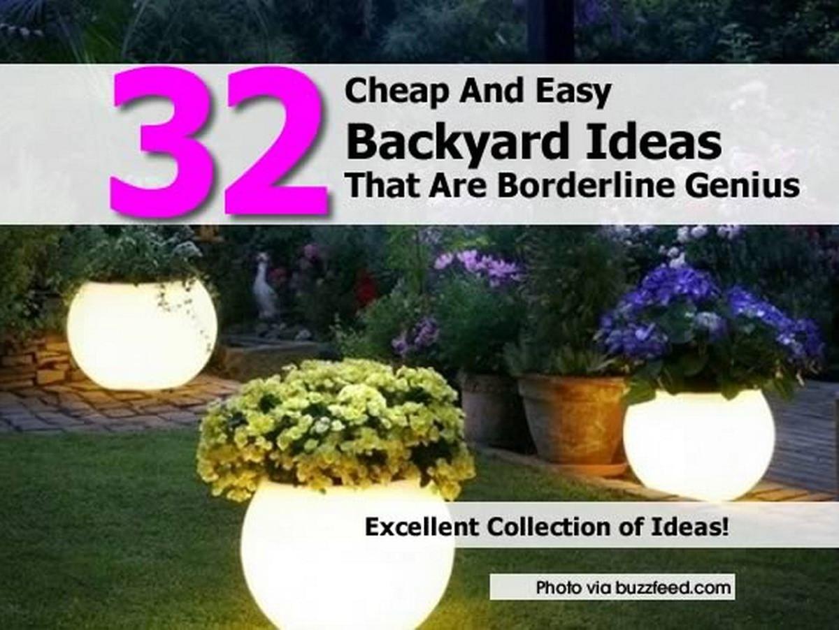 Cheap Backyard Ideas inexpensive backyard ideas patio inspiration living well on the cheap garden pinterest decks backyards and inspiration Easy Cheap Backyard Ideas Photo 2