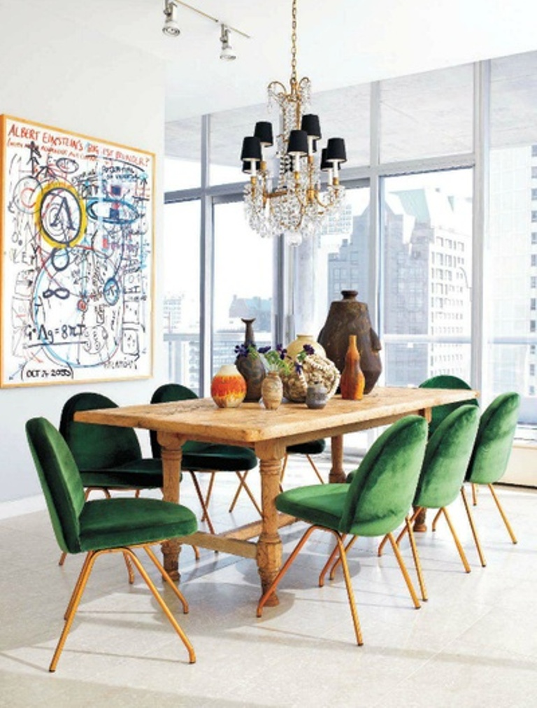 Nice Eclectic Dining Room Ideas Part - 5: Eclectic Dining Room Chairs ...