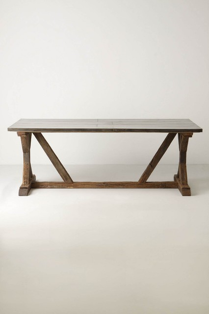 eclectic dining tables photo - 2