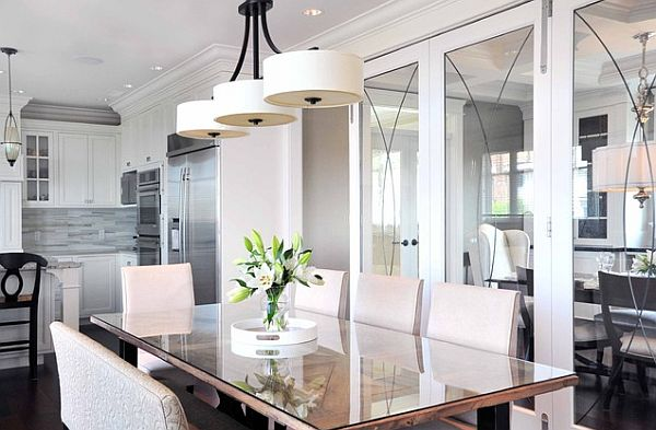 elegant chandeliers dining room photo - 1