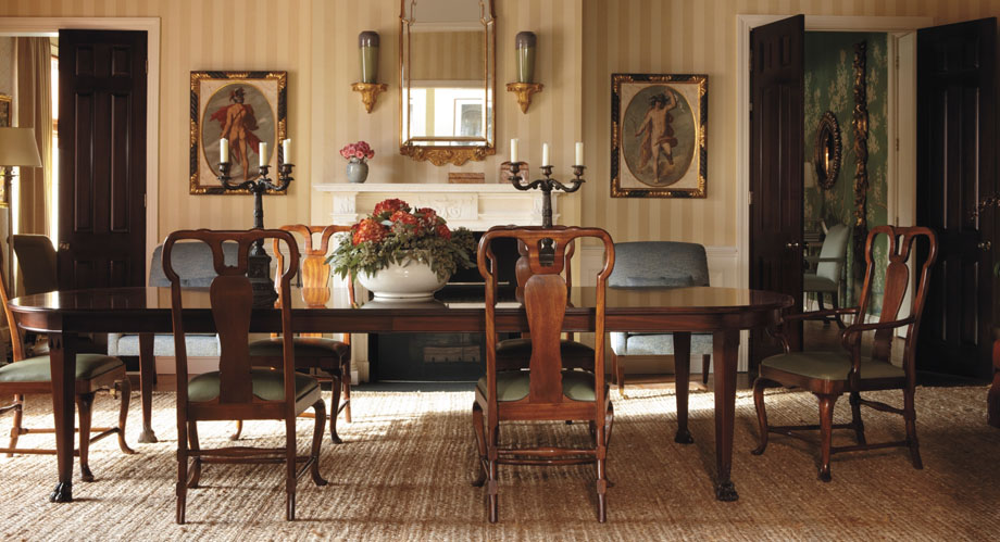 elegant dining rooms photo - 2