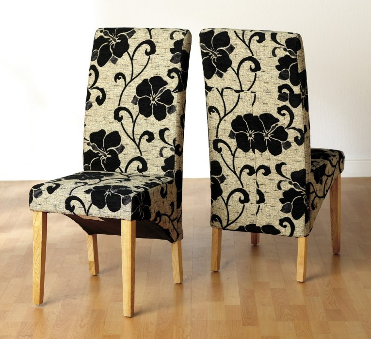 Fabric Chair Covers For Dining Room Chairs Photo