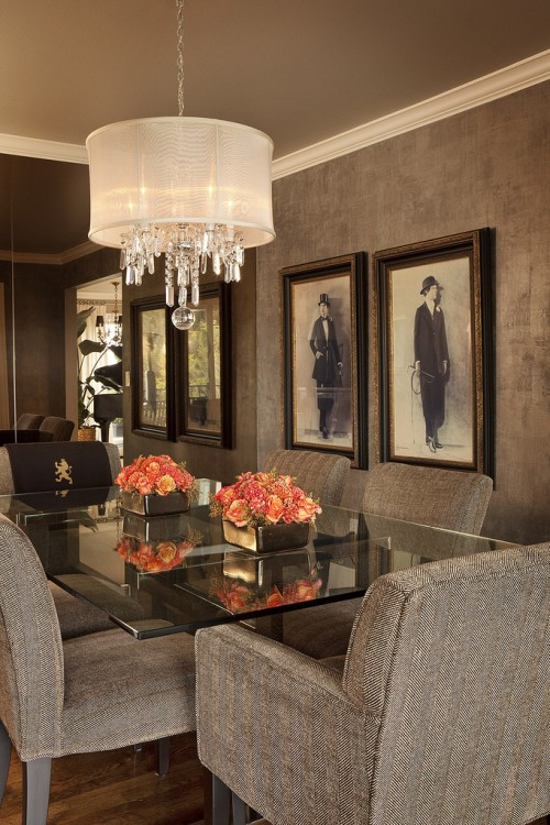 fancy dining room photo - 1