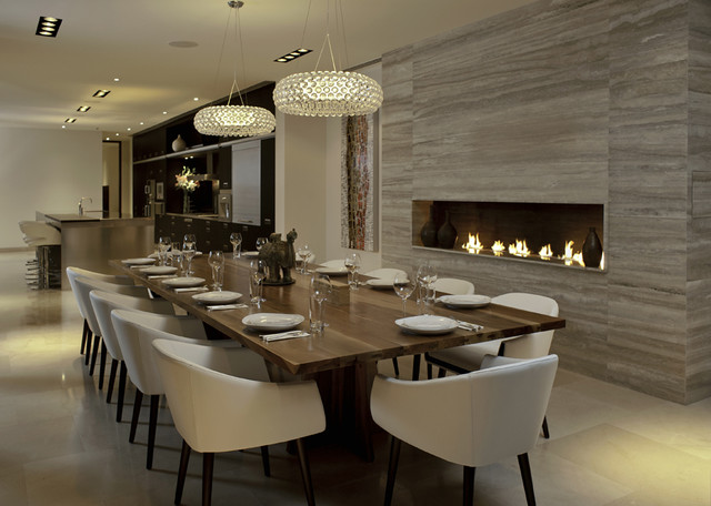 fancy dining room photo - 2