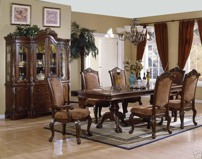 fancy dining rooms photo - 2