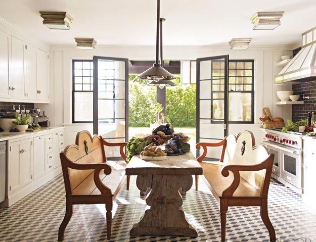 farm style dining room photo - 1