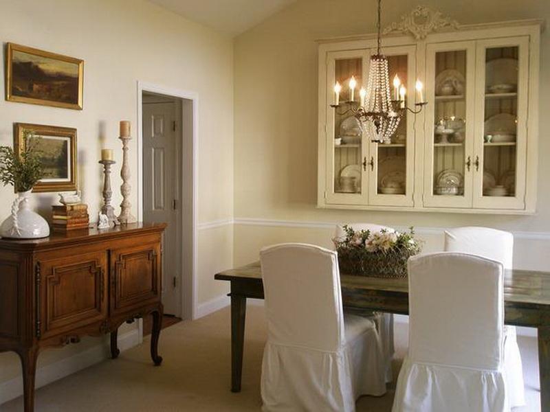 farmhouse dining rooms photo - 2