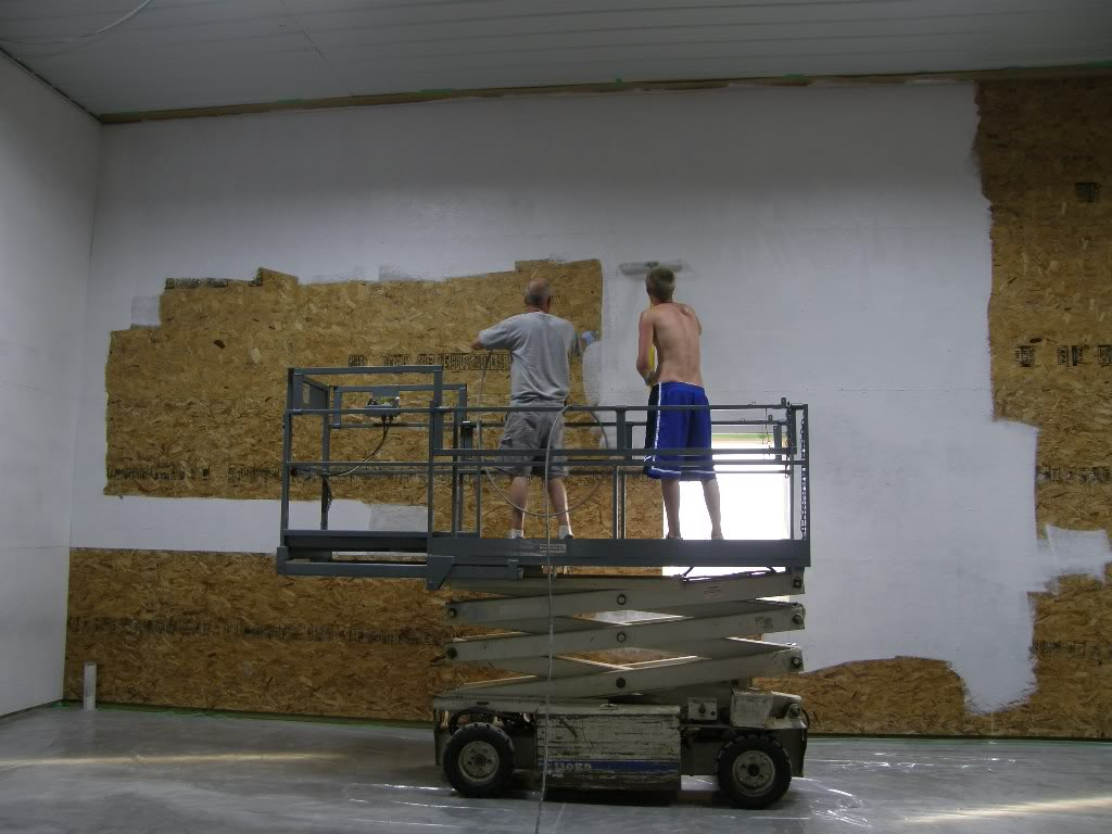 Finishing garage walls large and beautiful photos photo to select finishing garage walls - Osb house building value for money ...