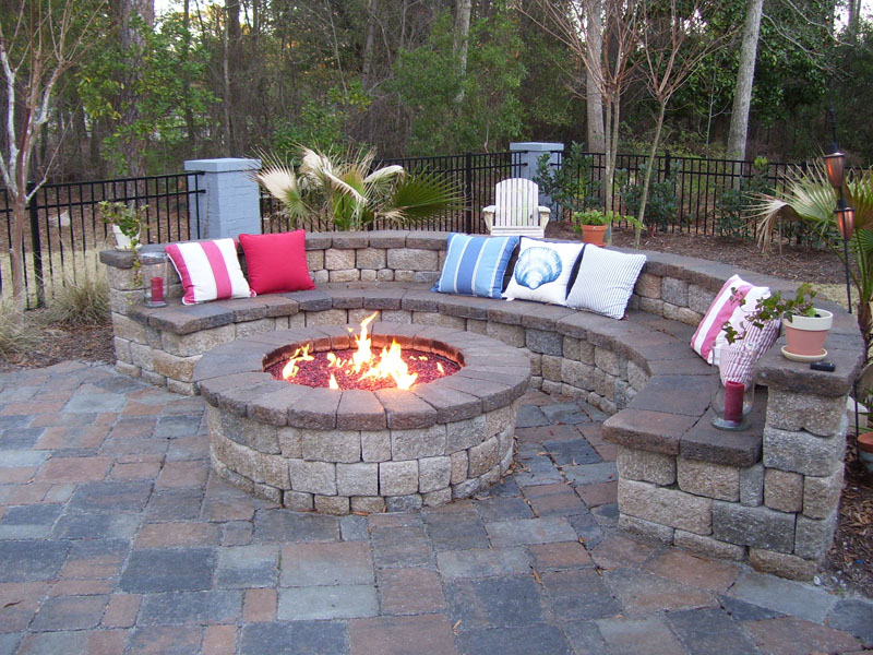 Fire pits backyard large and beautiful photos Photo to select