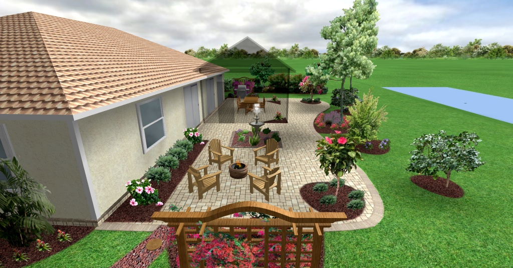 Florida backyard ideas large and beautiful photos photo for Florida backyard landscaping ideas