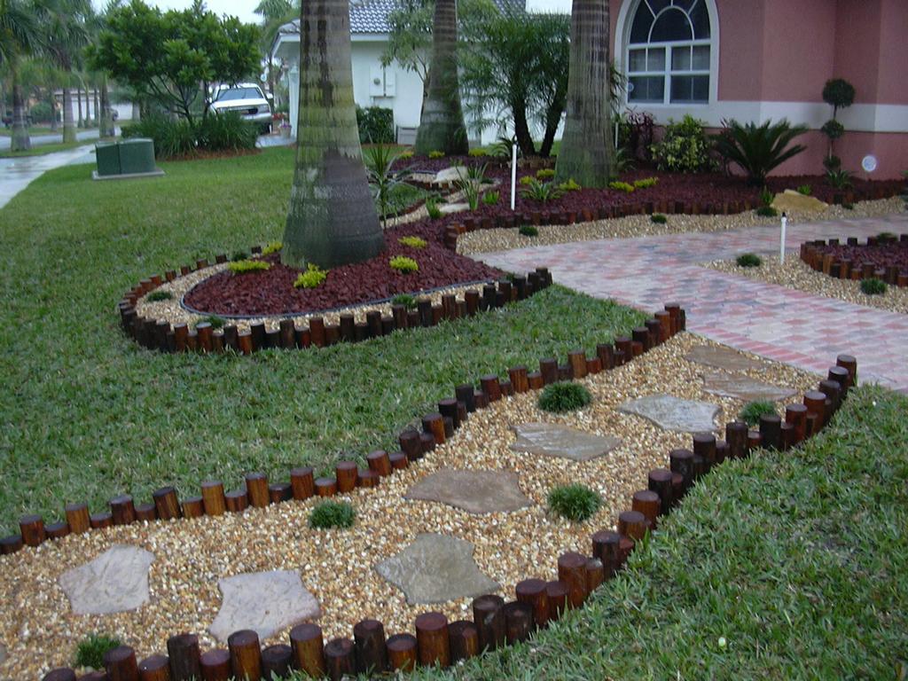 florida backyard landscaping photo - 1