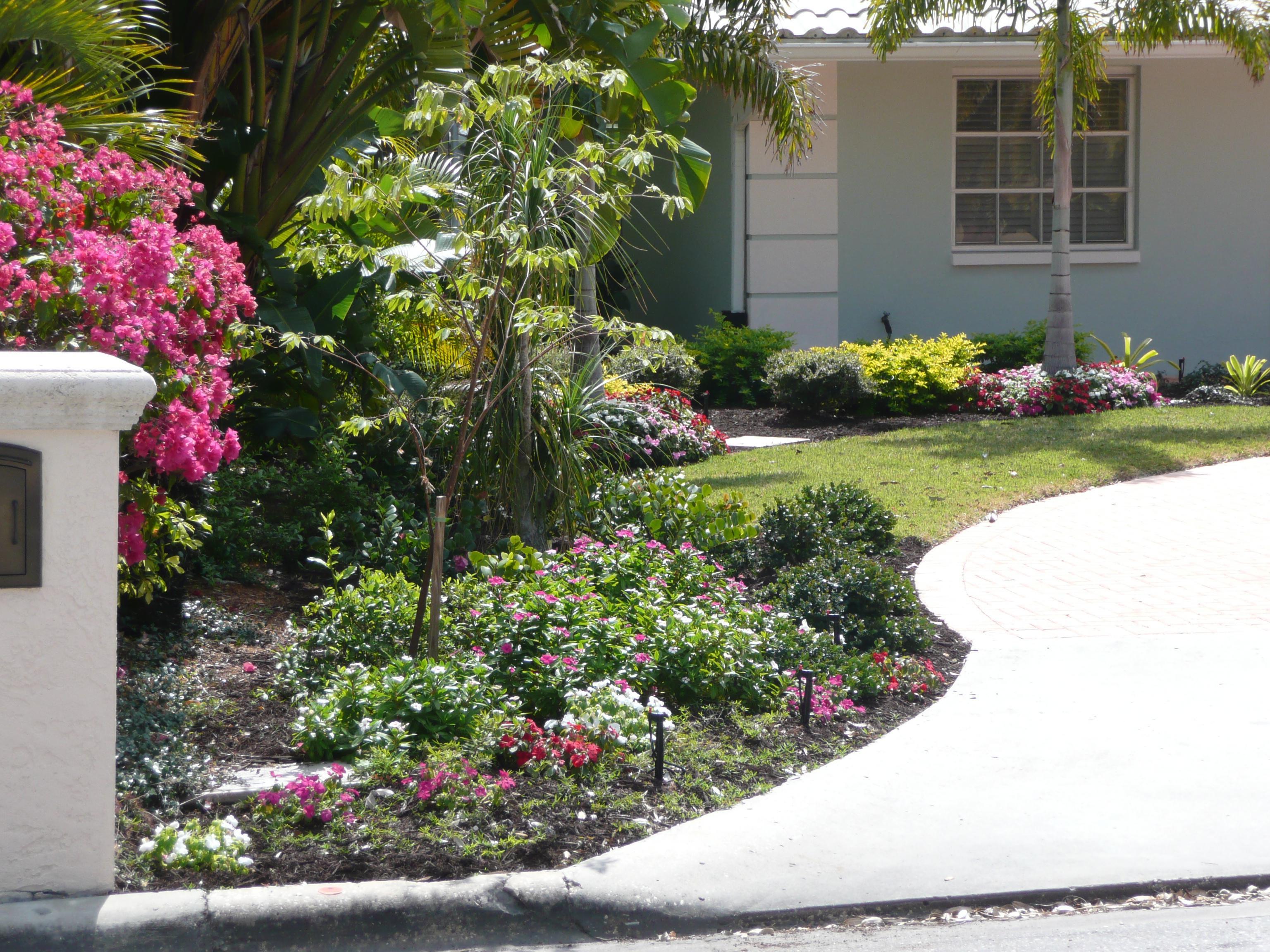 Florida Backyard Landscaping Large And Beautiful Photos Photo