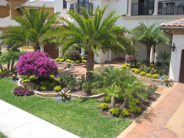 Florida Backyard Landscaping Ideas Large And Beautiful Photos