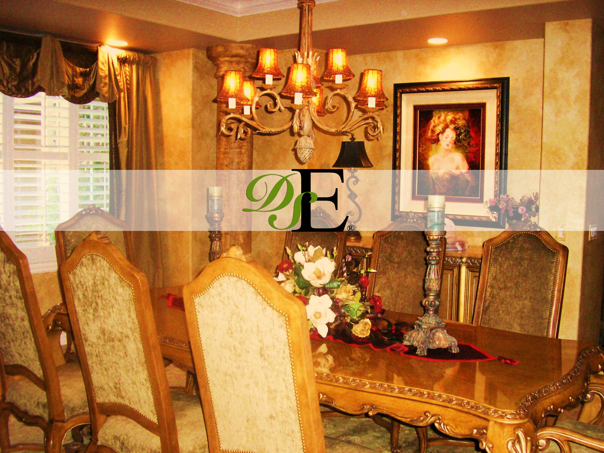 Formal dining room decor large and beautiful photos for Traditional dining room art