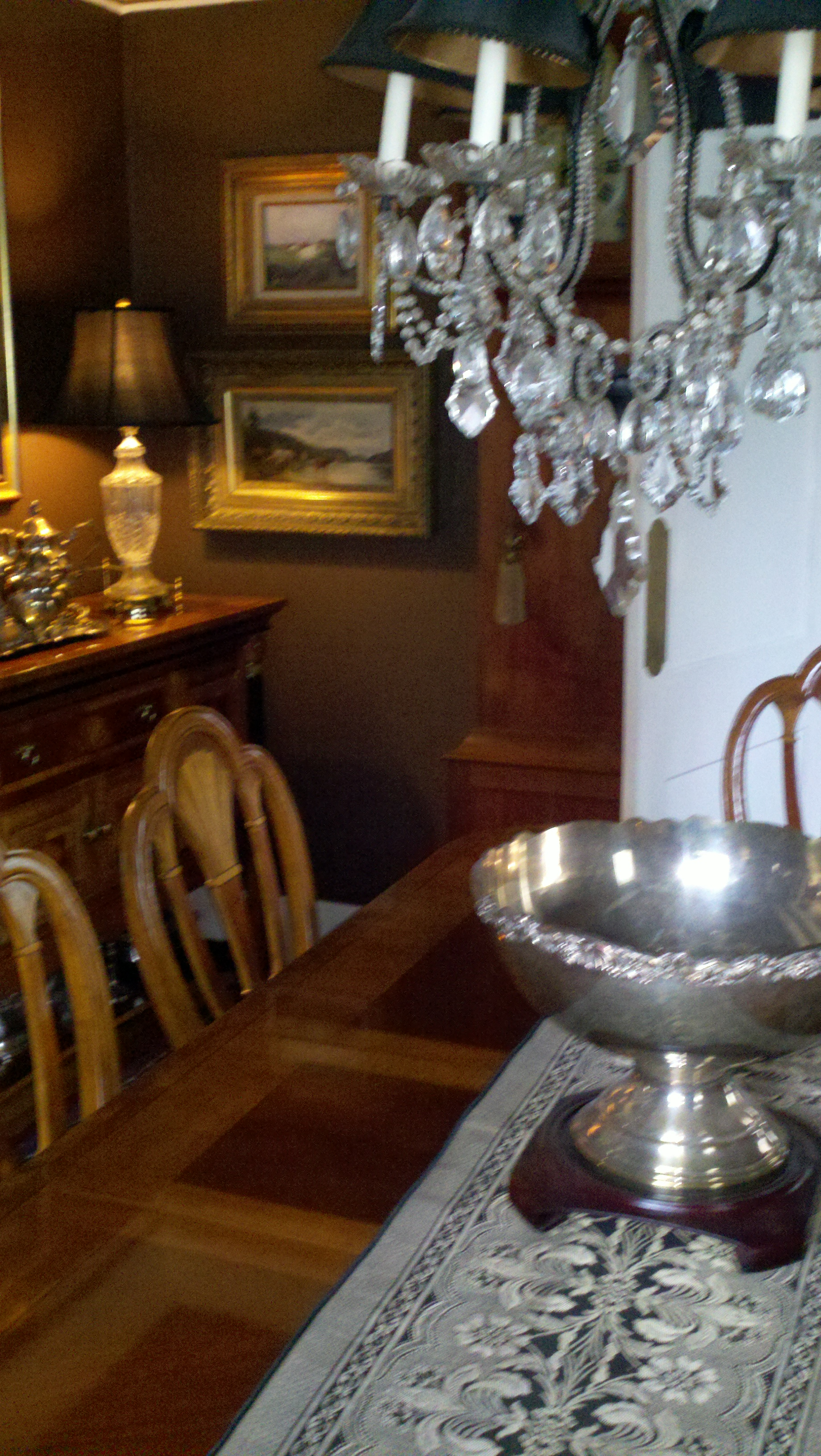 formal dining room design photo - 2