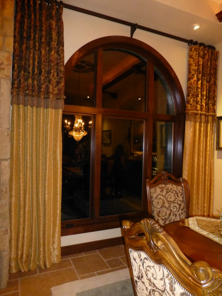formal dining room drapes photo - 2