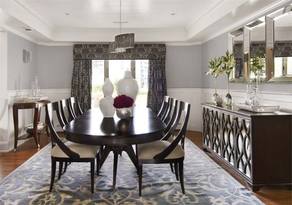 Formal dining room ideas large and beautiful photos for Formal dining and living room ideas