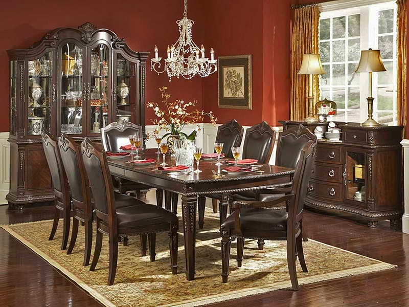 formal dining room paint colors photo - 2