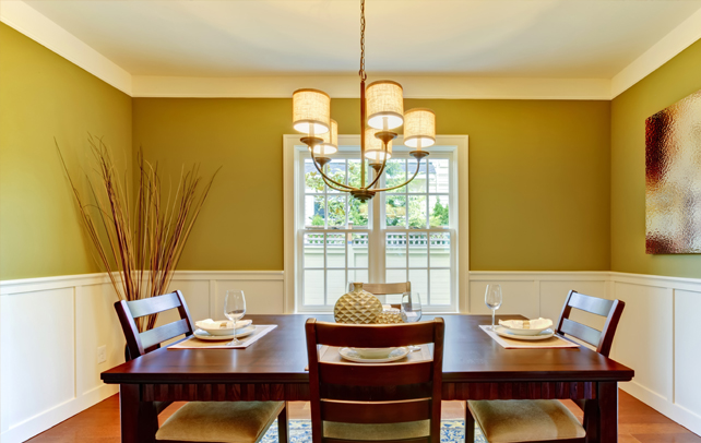 Formal dining room paint ideas - large and beautiful photos. Photo ...