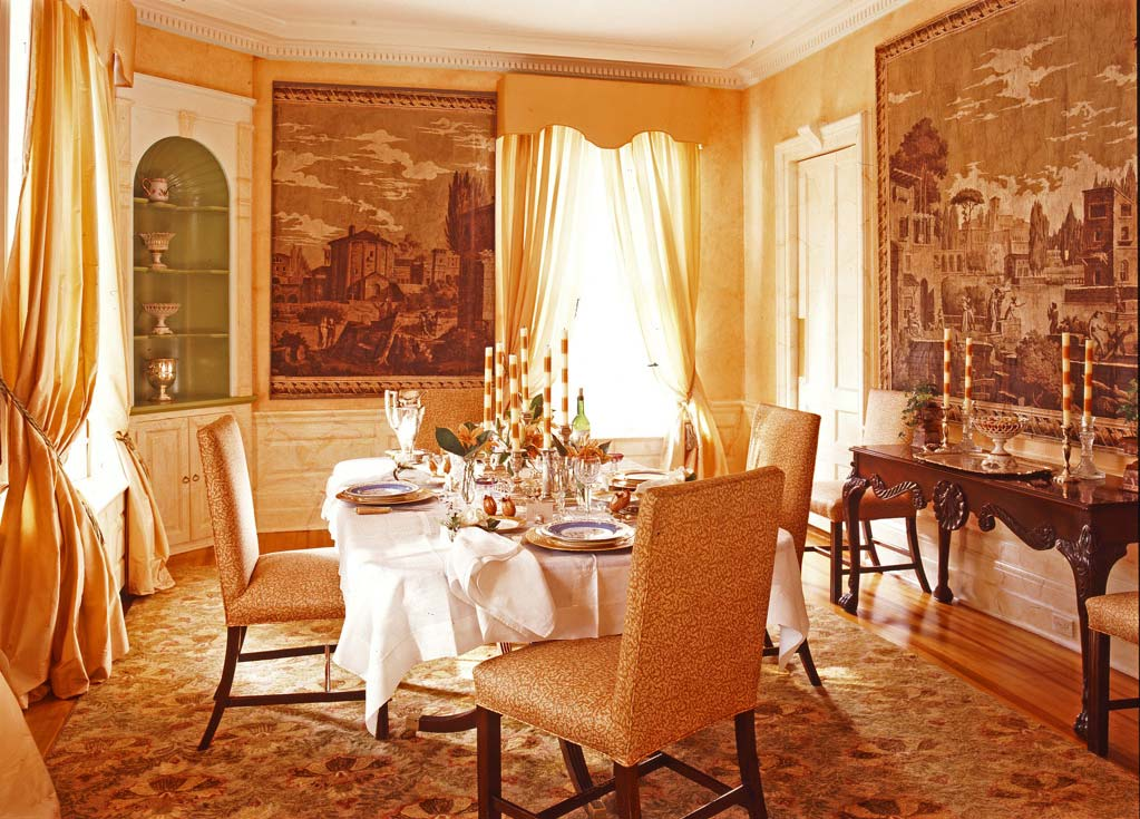 Formal dining rooms elegant decorating ideas large and for Formal dining rooms elegant decorating ideas
