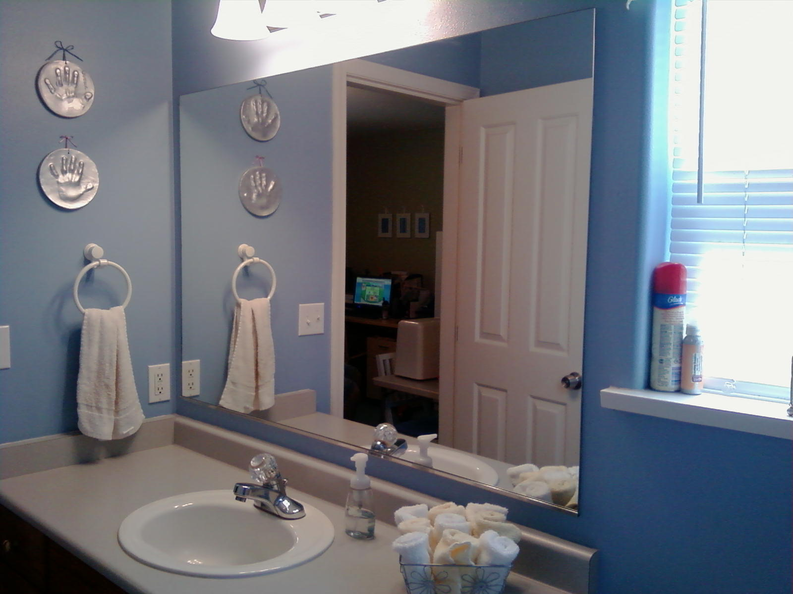 Frame bathroom mirror large and beautiful photos to