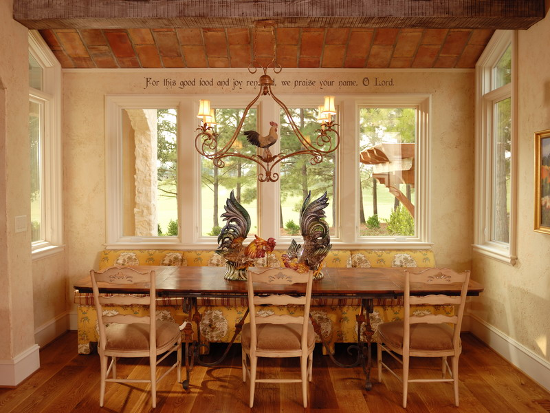 french country dining photo - 1