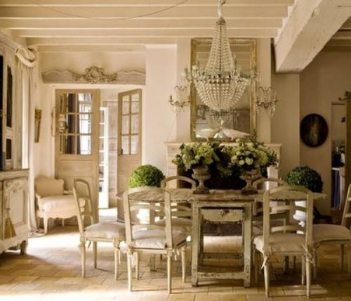 french country dining photo - 2