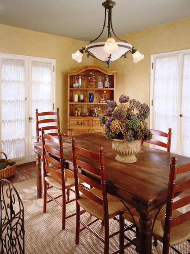french country dining room photo - 1
