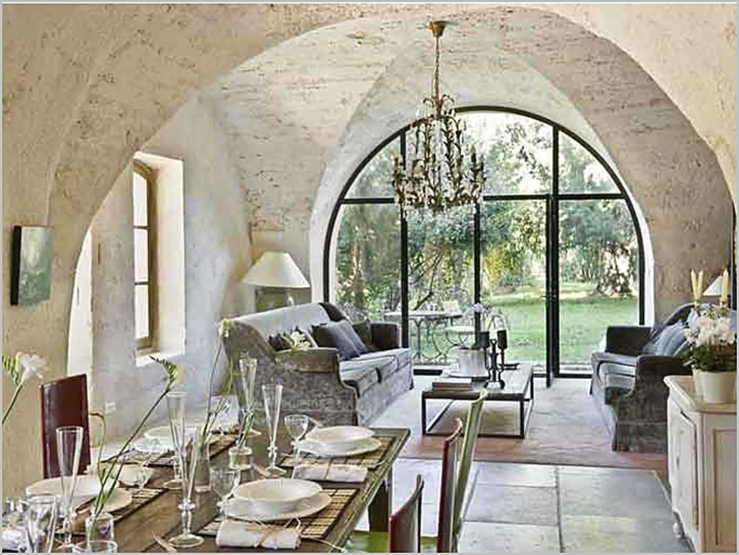french country dining room decor photo - 2