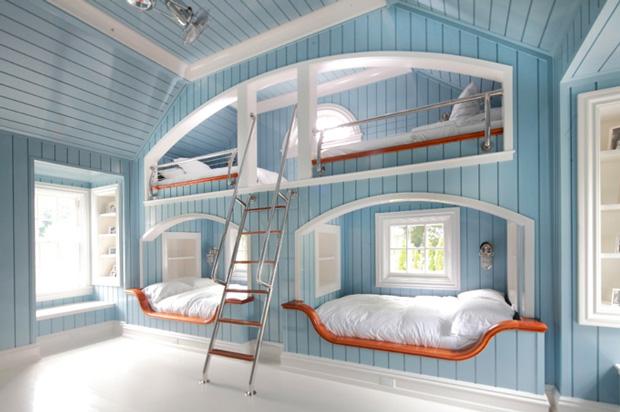 fun kids bedrooms photo - 2