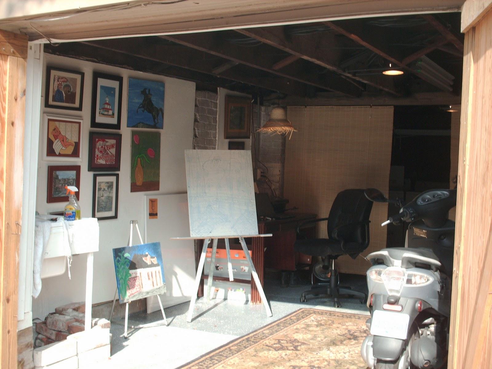 garage art studio photo - 2