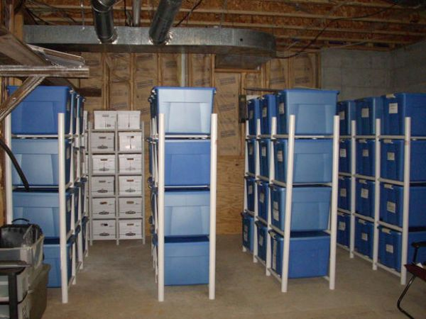 garage attic storage ideas photo - 2