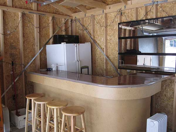 Garage Bar Ideas