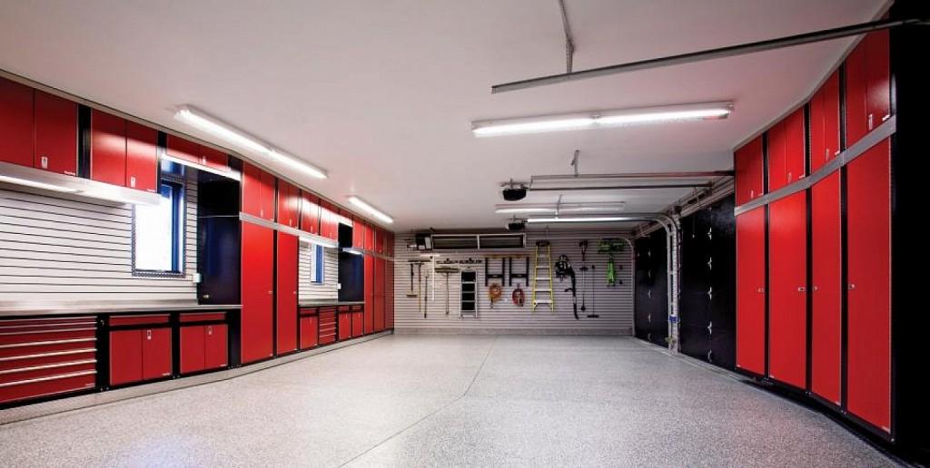 garage cabinets design photo - 1