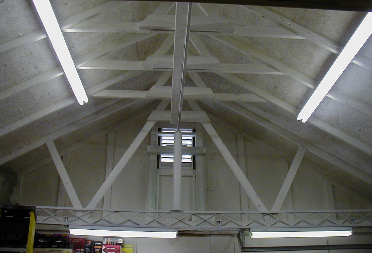 Чем подшить потолок в гараже лучшим способом своими руками 98