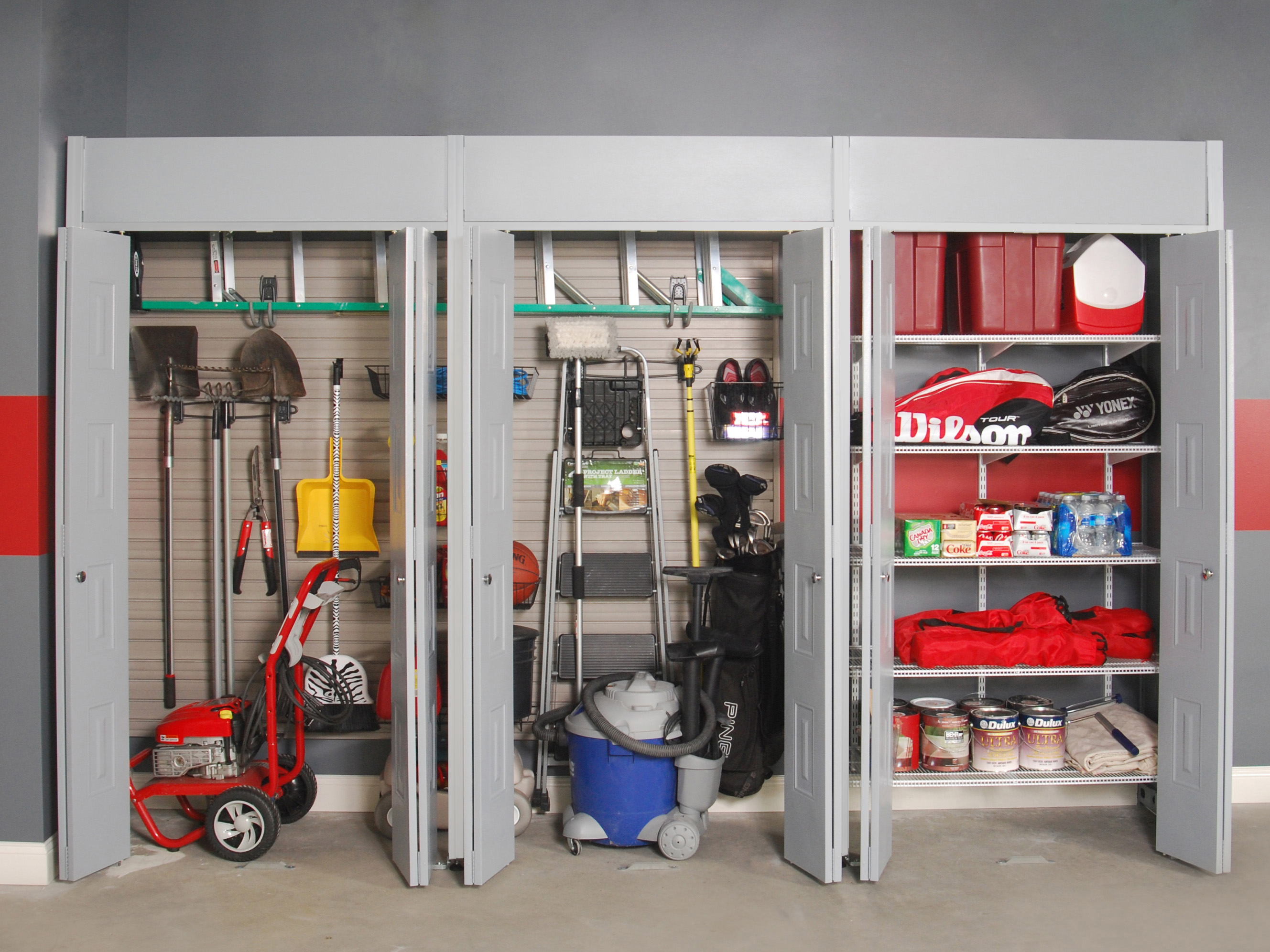 Garage Closet Design Photo   2