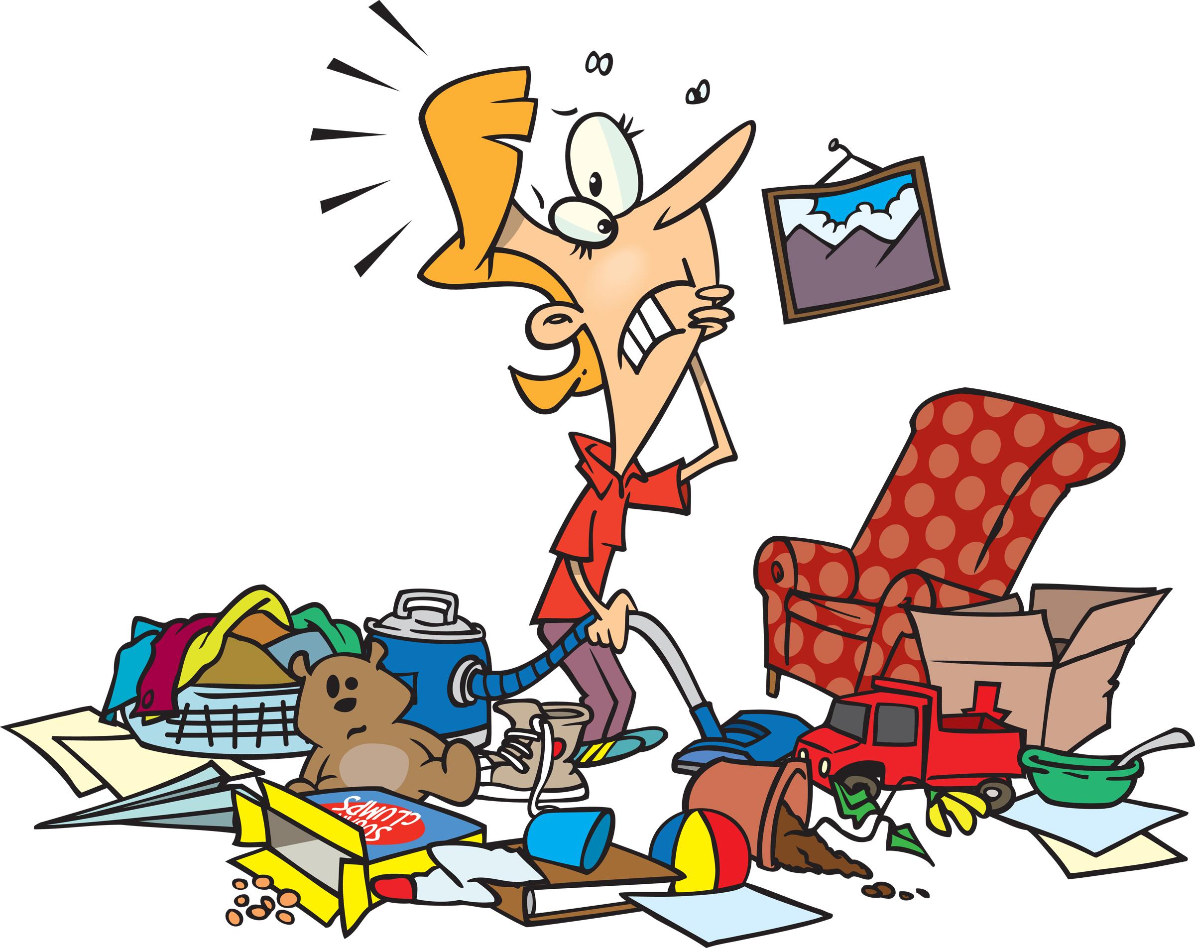 garage clutter photo - 1