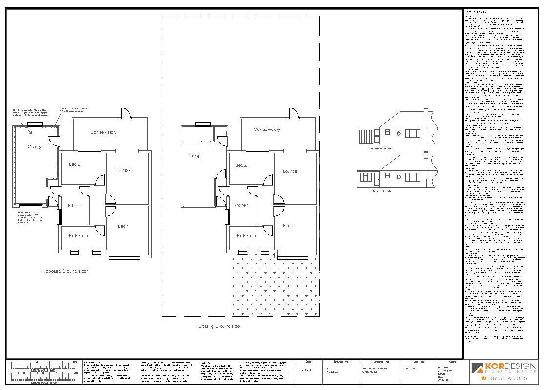 garage conversions plans photo - 1