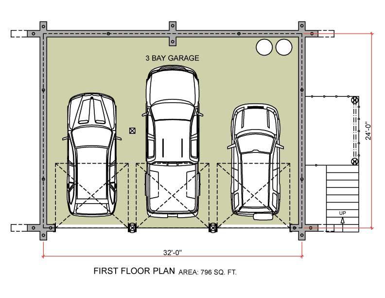 garage floorplans photo - 2