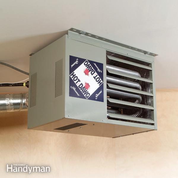 garage heating photo - 2