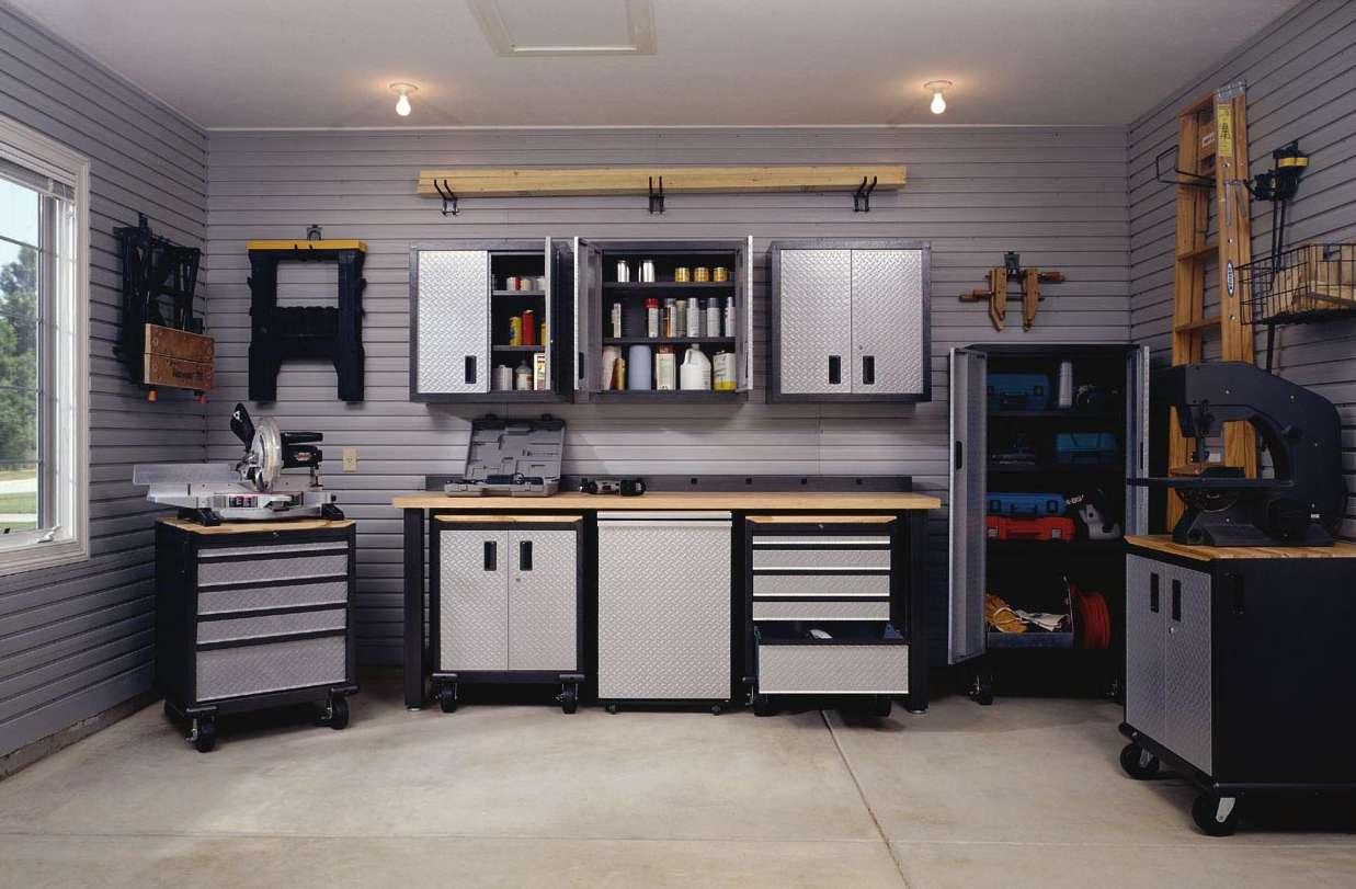 garage interior ideas photo - 1